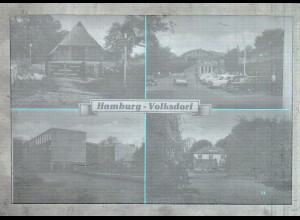 Neg3207/ Hamburg Volksdorf 60er Jahre