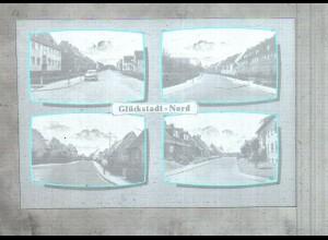 Neg3174/ Glückstadt-Nord altes Negativ 50/60er Jahre