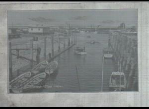 Neg3173/ Glückstadt Hafen altes Negativ 50er Jahre