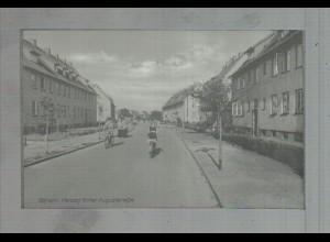 Neg3292/ Gifhorn Herzog-Ernst-August-Str. altes Negativ 50er Jahre