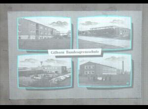 Neg3290/ Gifhorn Bundesgrenzschutz altes Negativ 60er Jahre
