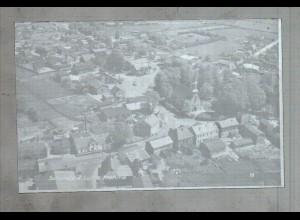 Neg3259/ Schenefeld bei Hamburg Luftaufnahme altes Negativ 50/60er Jahre