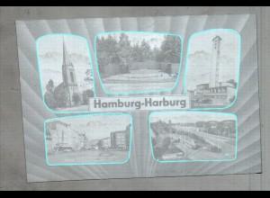 Neg3243/ Hamburg Harburg altes Negativ 50/60er Jahre
