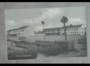 Neg3233/ Gifhorn Südschule altes Negativ 50er Jahre