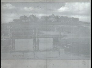 Neg3480/ Hallig Oland altes Negativ 50/60er Jahre