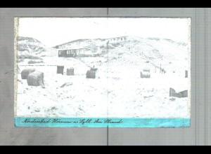 Neg3641/ Hörnum Sylt Am Strand altes Negativ 40/50er Jahre