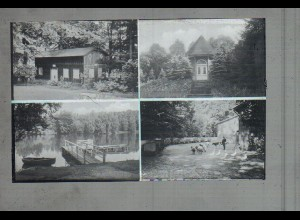 Neg3612/ Ahrensburg Parkhotel altes Negativ 50/60er Jahre