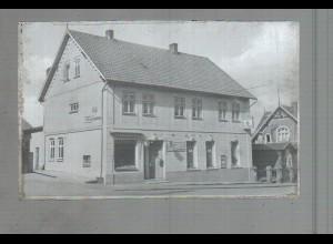 Neg3719/ Burg i. Dithm. Cafe Zeelemann altes Negativ 50er Jahre
