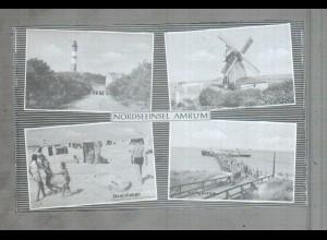Neg3800/ Nordseeinsel Amrum altes Negativ 40/50er Jahre
