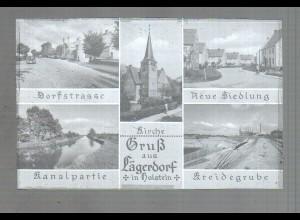 Neg4019/ Lägerdorf Neue Siedlung, Dorfstr. altes Negativ 50er Jahre