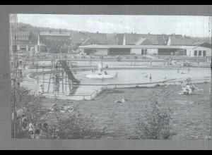 Neg4023/ Lägerdorf Badeanstalt altes Negativ 50er Jahre