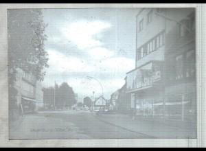 Neg4032/ Lauenburg Berliner Straße altes Negativ 60er Jahre
