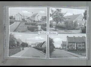 Neg4139/ Nortorf Danziger Str., Postredder altes Negativ 50/60er Jahre