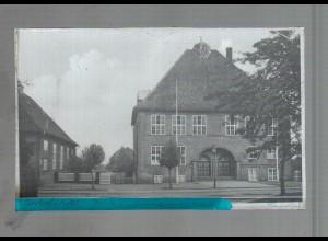 Neg4131/ Nortorf Schule altes Negativ 40/50er Jahre