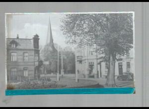 Neg4129/ Nortorf Rathausplatz altes Negativ 40/50er Jahre