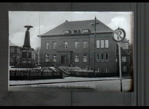 Neg4430/ Pinneberg Kreissparkasse altes Negativ 40er Jahre