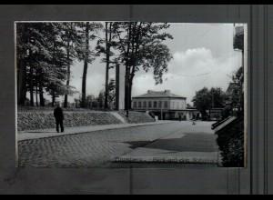 Neg4429/ Pinneberg Blick auf dem Bahnhof altes Negativ 40er Jahre