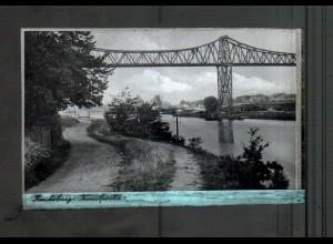 Neg4425/ Rendsburg Hochbrücke altes Negativ 40er Jahre