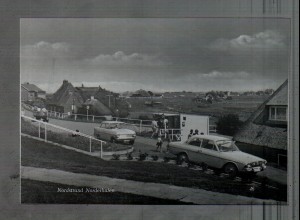 Neg4471/ Nordstrand Norderhafen Autos Opel Kadett altes Negativ 60er Jahre