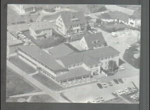 Neg4570/ St. Peter-Ording Kurhotel Luftbild altes Negativ 50/60er Jahre