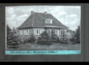Neg4546/ Schobüll am Meer Kinderheim Soltau altes Negativ 40/50er Jahre