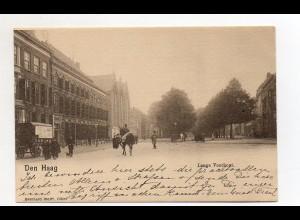 U2263/ Den Haag Lange Voorhout Niederlande AK ca.1900