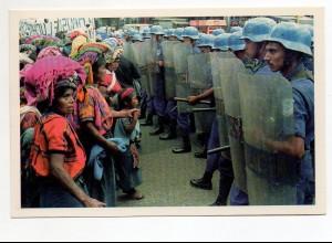 Y8710/ Guatemala 1992 Demonstration AK