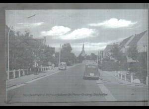 Neg4731/ St. Peter-Ording Badeallee Autos altes Negativ 60er Jahre