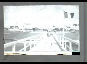 Neg4677/ St. Peter-Ordning Brücke altes Negativ 40/50er Jahre