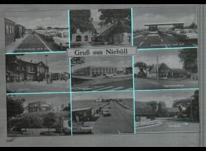 Neg4657/ Niebüll altes Negativ 60er Jahre