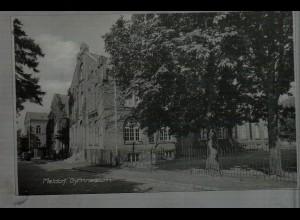 Neg4631/ Meldorf Gymnasium altes Negativ 60er Jahre