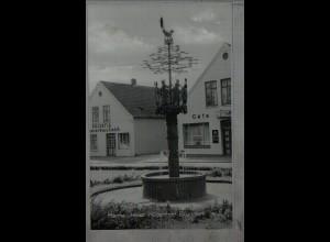 Neg4625/ Marne i. H. Müllenhoff-Brunnen altes Negativ 50/60er Jahre