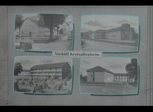 Neg4619/ Niebüll Kreisaltenheim altes Negativ 60er Jahre