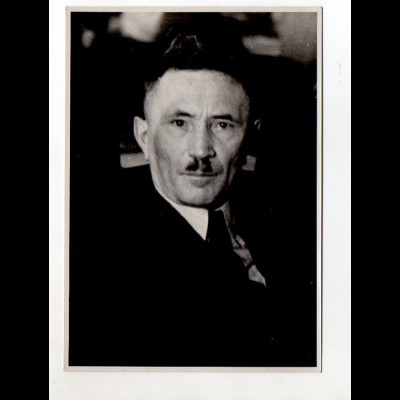 C2869/ Bundesarbeitsminister Anton Storch 1950 Foto 17,5 x 12,5 cm