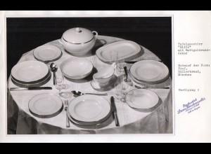 C2939/ Hutschenreuther Geschirr Elite Entwurf Proff. Hillebrand FOTO ca.1955