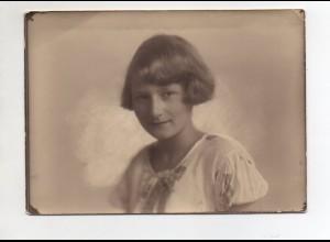 C2955/ Hübsches Mädchen Foto ca.1930 16,5 x 12 cm