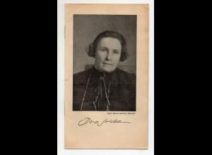 C2950/ Ina Seidel Schriftstellerin Heft 12 Seiten ca.1920