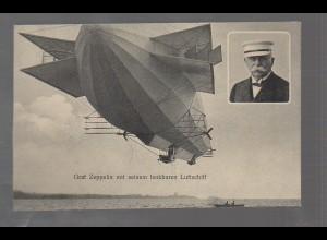 U3268/ Graf Zeppelin Luftschiff AK ca. 1912
