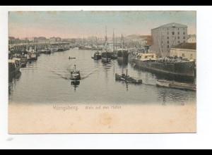 U3338/ Königsberg Hafen Ostpreußen AK ca.1900