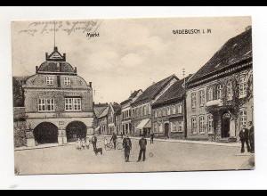 U3375-192./ Gadebusch i. M. Markt AK 1913