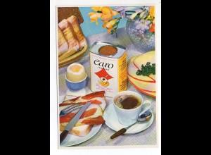 U3386/ Caro-Kaffee Reklame AK gedeckter Tisch ca.1965