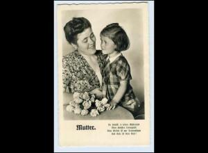 A3346/ Muttertag Foto AK Mutter und Kind ca.1955