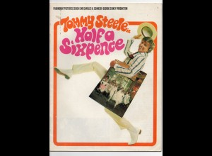 C866/ Tommy Steele in Half a Sixpence Mucical Programmheft 1967