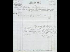 c024/ Rechnung Bremen R. Hehnn Nachf.1905 Baumwollwaren