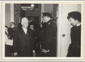 c069/ Bundespräsident Lübke in Hamburg Pressefoto ca. 1965
