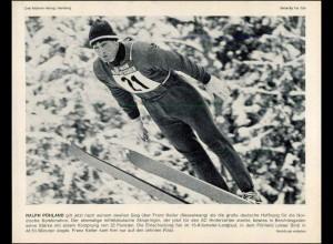 "c160/ Skispringen Ralph Pöhland Bild ""Drei Mohren Verlag"" 1969"