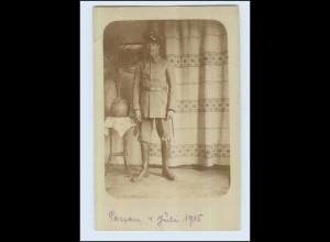 P2W97/ Soldat 1. Weltkrieg Foto AK 1915 Passau