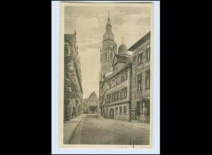P3A08/ Coburg Gymnasium mit Moritzkirche 1926 AK