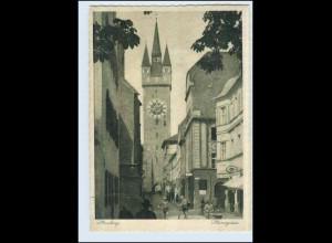 P2X99/ Straubing Steinergasse 1934 AK