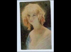 P3J09/ Degi Gemälde AK Nr. 568 Die Blondine ca.1920